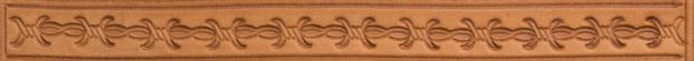 Bordertooling/Punzierung für Deuber-Sättel, Typ BT43