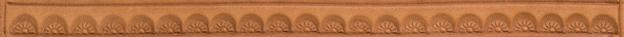 Bordertooling/Punzierung für Deuber-Sättel, Typ BT36
