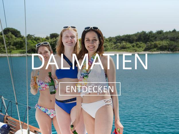 Segelurlaub in Dalmatien