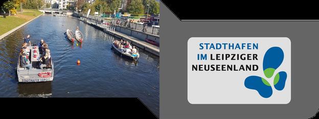 Stadtrundfahrten in Leipzig mit dem Boot vom Stadthafen Leipzig - immerwiederleipzig