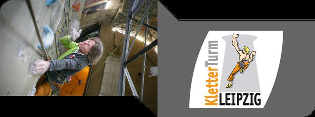 Klettern und Bouldern in Leipzig: KletterTurm - immerwiederleipzig