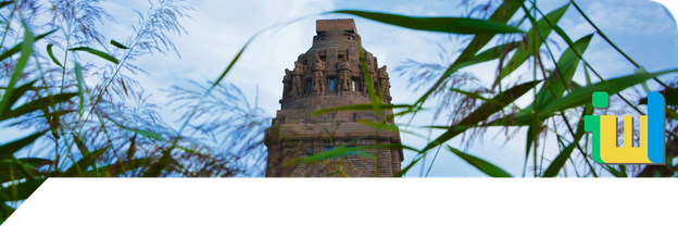 Sehenswürdigkeiten in Leipzig - auf dem Bild: Völkerschlachtdenkmal