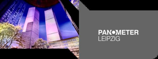 PANOMETER LEIPZIG - das größte 360°-Panorama der Welt. Aktuelle Ausstellung: Carolas Garten