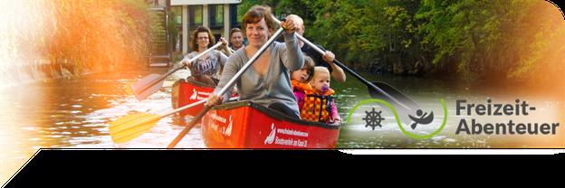 Freizeit-Abenteuer Leipzig, Bootsverleih Karl-Heine-Kanal