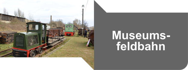 Museumsfeldbahn Leipzig Lindenau - ehemalige Kiesbahn am Lindenauer Hafen