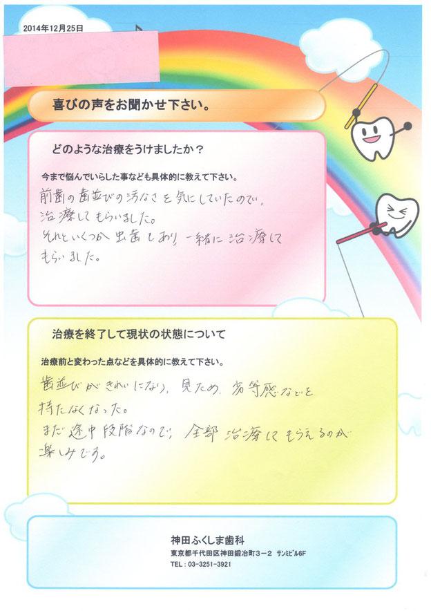 神田ふくしま歯科の口コミ
