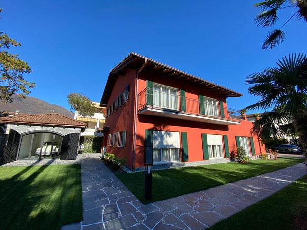 Wohnen in Ascona / im Tessin - Hotel Ascovilla