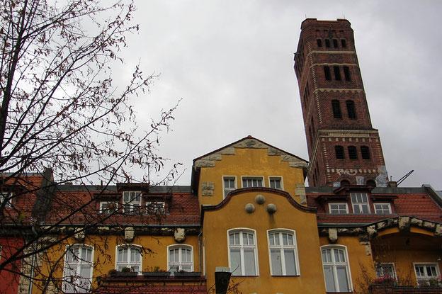 Schrotkugelturm - Berlin Lichtenberg