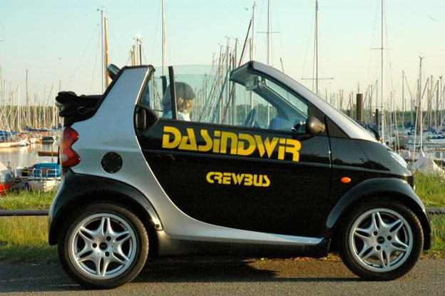 """Der """"DASINDWIR"""" Crewbus"""