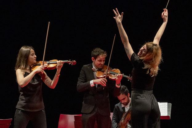 """Musica Bayreuth 2021: Nachtkonzert in der Stadtkirche Bayreuth; Ensemble Kontraste mit Musica Bayreuth 2021: Exzeptionelles Nachtkonzert mit dem Ensemble Kontraste und Olivier Messiaens """"Quatuor pour la fin du temps"""""""