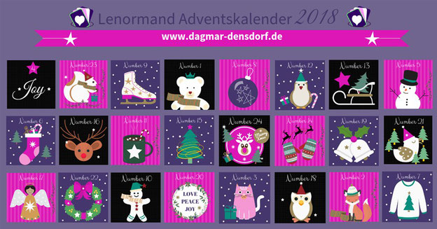 Lenormand Adventskalender 2018
