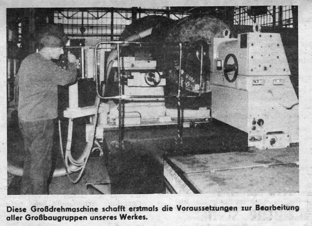 Großdrehbank