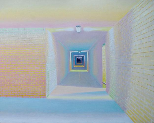 Silence. 120 cm x 150 cm. Oil on canvas