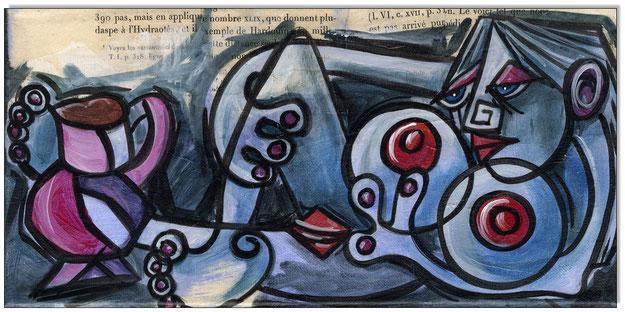 PICASSO Style Erotic Art 15