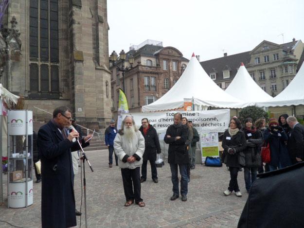 Le Collectif s'invite aux journées du développement durable place de la réunion à Mulhouse