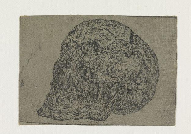 ヘラクレス・セーヘルスの骸骨画。