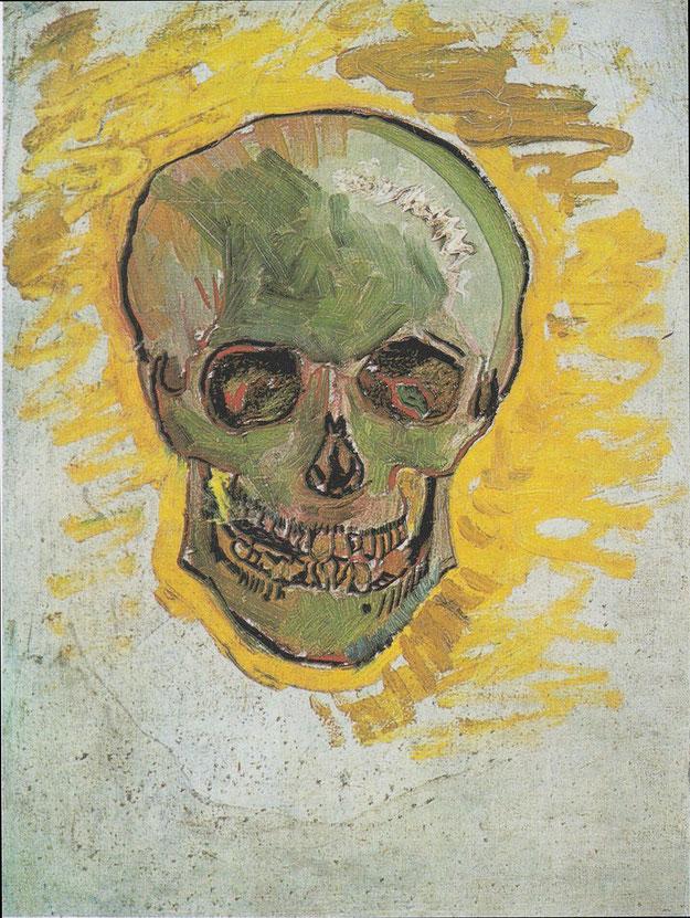 フィンセント・ファン・ゴッホ「骸骨」 (1887/1888)