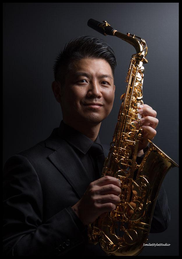 saxophone Seiji   カメラHibiki ヘアメイクKana      ストロボ  NikonD810