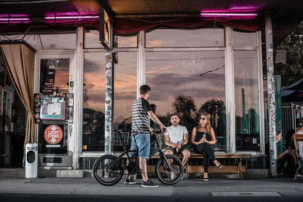 Urbane Mobilität mit dem Radius e-Bike von Winora