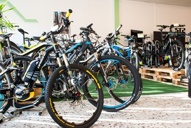 Haibike e-Bikes 2015