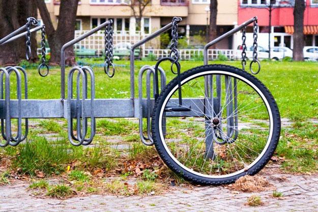 Einsames Rad_Diebstahlschutz_