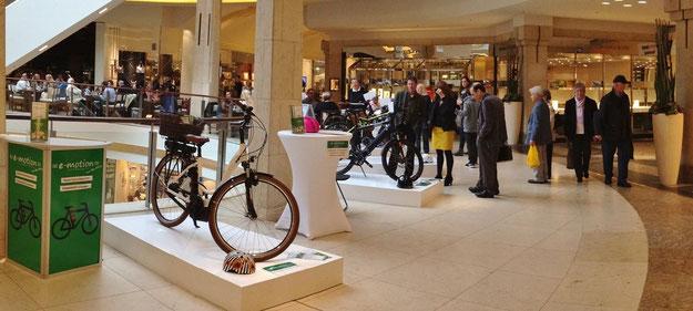 e-motion e-Bikes KÖ Galerie Düsseldorf
