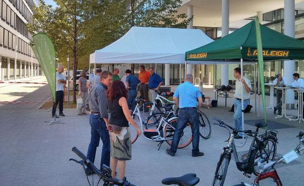e-motion e-Bike Tag bei Nokia Siemens Networks