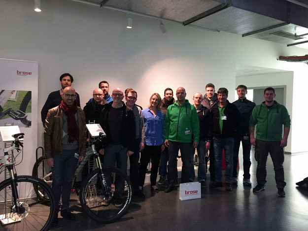 e-motion Shops zu Besuch bei Brose Antriebstechnik in Berlin