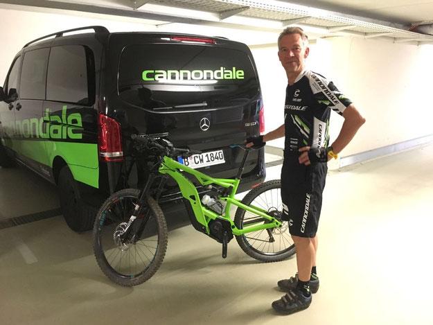 Cannondale 2017: Testfahrt von der e-motion e-Bike Welt Düsseldorf