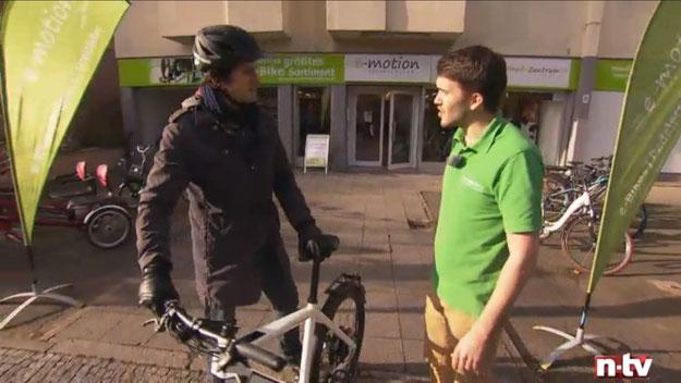 e-Bike Experten auf n-tv