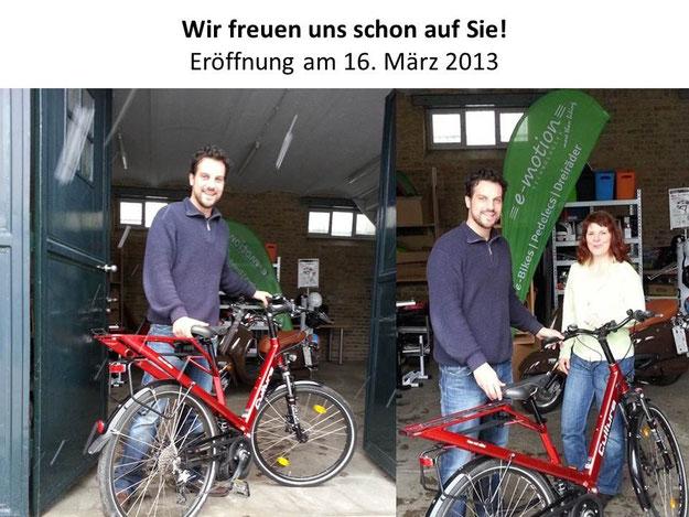 Neueröffnung e-motion e-Bike Premium-Shop Worms