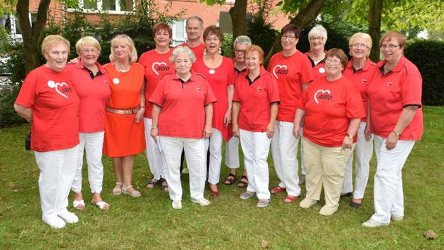 Viele fleißige Helfer und Helferinnen machten die Jubiläumsfeier zu einem vollen Erfolg.