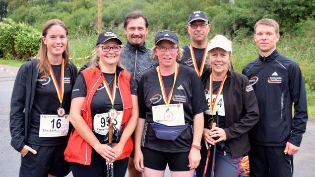 Sie hatten einen Sieger in ihren Reihen: das Team der Stadtwerke Quickborn