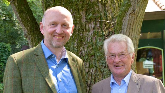 Jens Bosse übergab die Präsidentschaft an Peter Heydorn