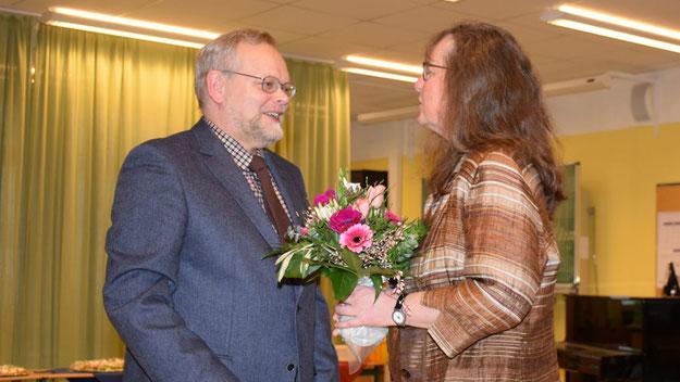 Bürgervorsteher Henning Meyn sicherte die Unterstützung der Politik und der Verwaltung zu.
