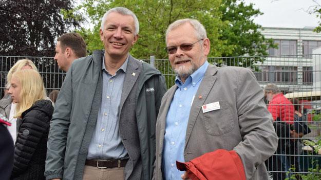Bürgervorsteher Henning Meyn konnte auch den CDU-Landtagsabgeordneten Peter Lehnert begrüßen.