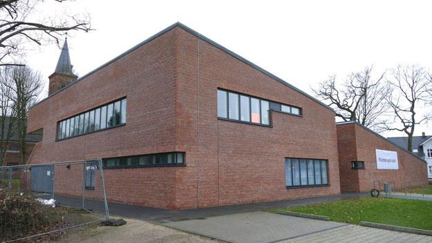 Bereits in Betrieb: das neue Gemeindehaus