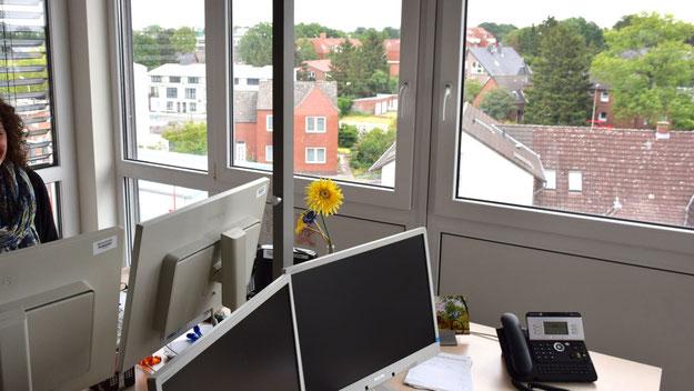 Bestens ausgestattet: die neuen Büros der Stadt im Forum
