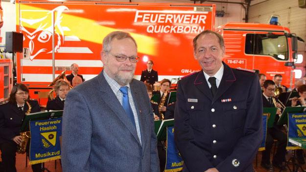 Zu den Ehrengästen zählte Bürgervorsteher Henning Meyn.