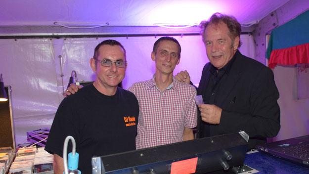 Christoph Meier-Siems freute sich über den gelungenen Einstand des DJ-Teams Manfred Hauke und Tom Korth.