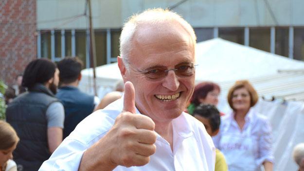Rundum zufrieden sein mit dem Fest konnte Pfarrer Wolfgang Guttmann.