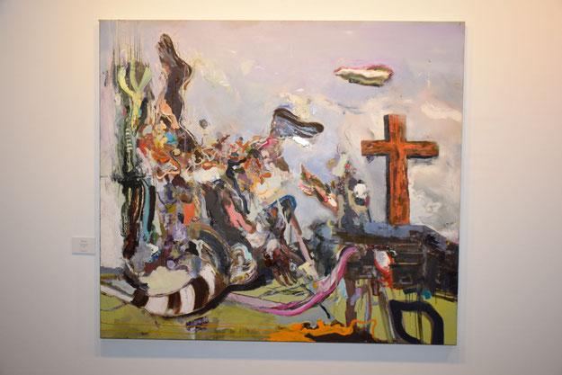 Wer ein großformatiges Werk von Rudi Kargus zuhause hängen haben möchte: die Preise beginnen bei 3.900 Euro.