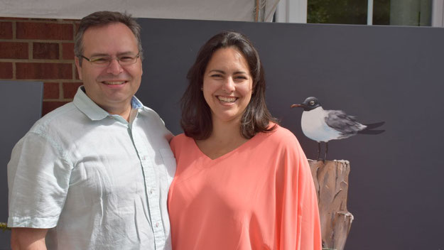 Ana Isabel Hernandez begrüßte gemeinsam mit ihren Mann Gonzalo Aguerrevere die Gäste.