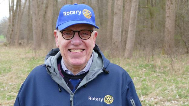 Besuchte die rotarischen Freunde in Quickborn: Distrikt-Governor Wolfgang Bülow