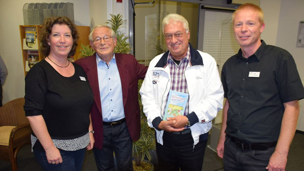 Michaela Ploog, Autor Peter Jäger, Bernd Kleinhapel und Klaus Fechner