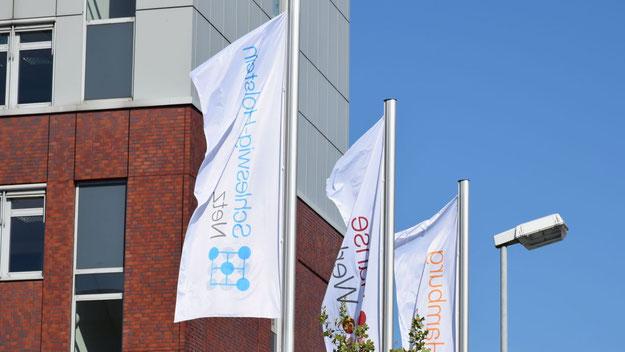 Die Schleswig-Holstein-Netz AG hat ihren Sitz zusammen mit ihrer Muttergesellschaft HanseWerk AG in Quickborn am Hein-Gas-Platz.