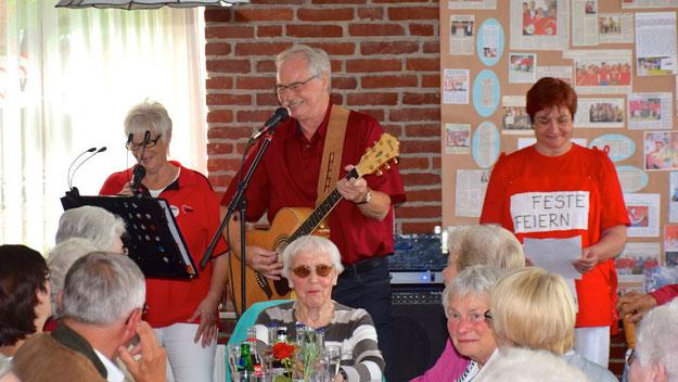 Die Musikanten sorgten auch im weiteren Verlauf der Veranstaltung für den musikalischen Rahmen.