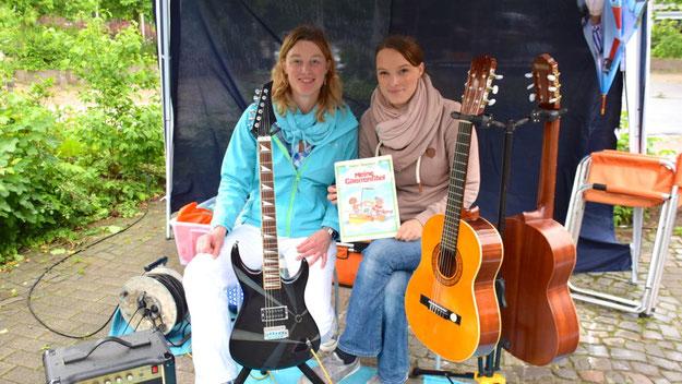 Und hier? Instrumentenhandel? Es sei verraten: Die private Musikschule Limited Tones informierte über ihr vielseitiges Angebot.
