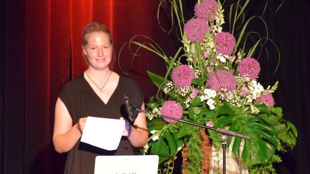 ...und Rieke Meyer-Breckwoldt kleidete ihren Dank in Gedichtform.