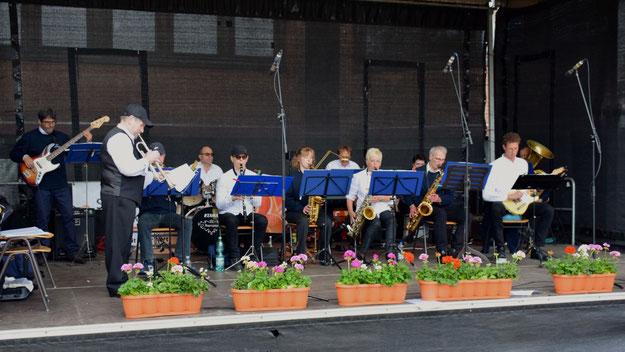 Für das musikalische Finale sorgte das QuSwing Ensemble.